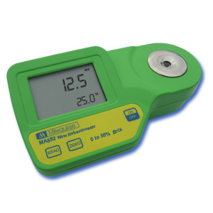 MA882 Refractómetro Digital para medir Brix en Vinos