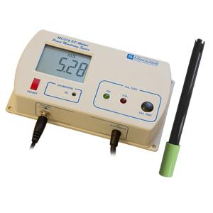 MC315 Monitor de Conductividad con botón de Test Cal