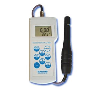 Mi306 Medidor Portátil Profesional de Conductivity / TDS / NaCl / Temperatura, de Martini Instruments, para el Laboratorio