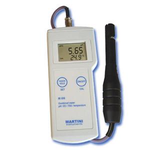 Mi806 Medidor Portátil Profesional de pH / Conductividad / TDS / Temperatura, de Martini Instruments, para el Laboratorio<