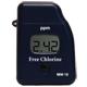 Fotómetro útil para CLORO LIBRE, rango: 0,00 a 2,50 mg/L of Cl<sub>2</sub>, precisión: 3% de la lectura