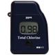 Fotómetro útil para <strong>CLORO TOTAL</strong>, rango: 0,00 a 3,50 mg/L de Cl<sub>2</sub>, precisión: 3% de la lectura