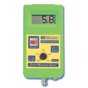 Monitor Inteligente de pH con rango de puntos ajustables de 3.5 a 7.5 pH