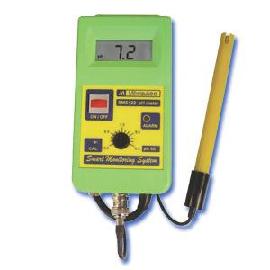 SMS122 Controlador Inteligente de pH / CO<sub>2</sub>