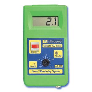 SMS310 Monitor Inteligente de Conductividad con rango ajustable de 0.0 to 10.0 mS/cm