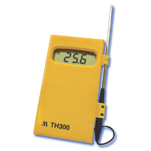 TH300 Thermistor Termómetro Termistor con Sonda de Acero Inoxidable y 1 metro de cable