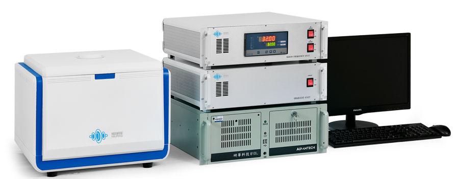 Sistema para exprimentos MRI, de Niumag